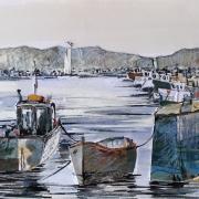 Boats at Keyhaven