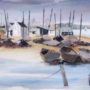 Boats at Mudeford