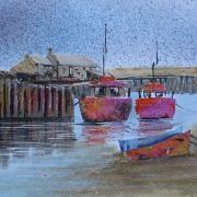 Boats at Lyme Regis,